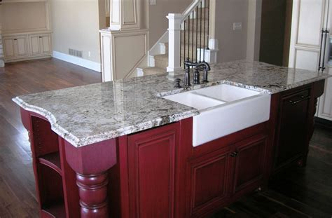 Kitchen Island With Bar Top Northstar Granite Tops Twin Cities Granite Amp Natural