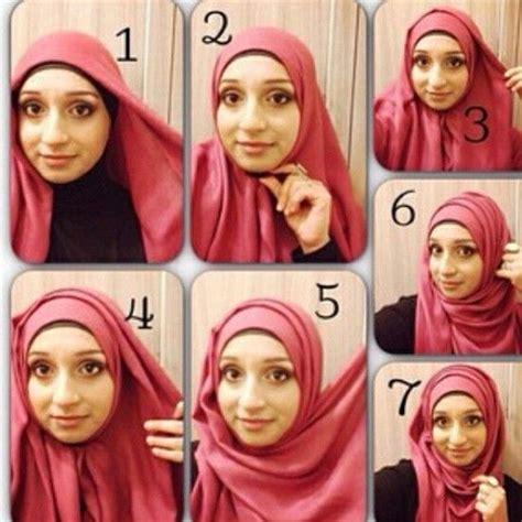 tutorial pashmina layer hijab tutorial with folds hijab style pinterest