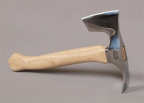 stainless steel axe stainless steel bearded hatchet axe with adze blade two