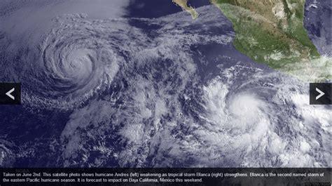 imagenes satelitales del huracan wilma vista del sat 233 lite de tormenta andr 233 s izquierda y