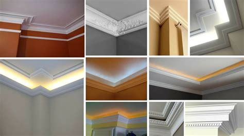 ceiling corner crown molding ideasfalse ceiling design