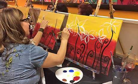 groupon paint nite fort lauderdale things to do in fort lauderdale deals in fort lauderdale