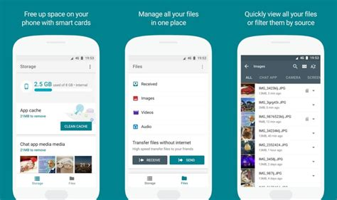 file explorer android files go nuovo file manager per android