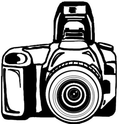 camera clipart black and white png | clipart panda free