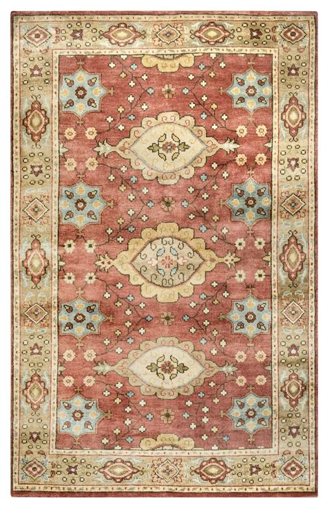 wool area rugs aquarius traditional border new zealand wool area rug in