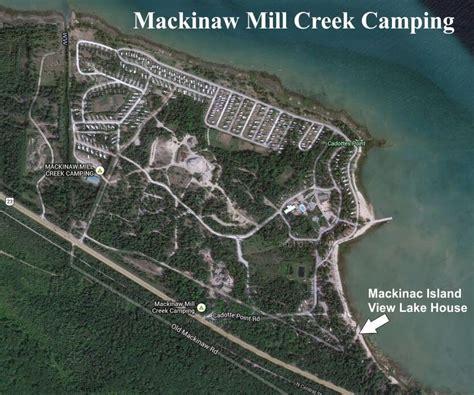 Kitchen Island With Refrigerator Mackinac Island View Lake House Rental