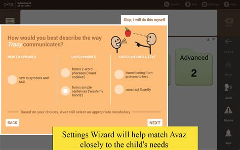 L Aac App by Avaz Aac App For Autism Applications Android Sur