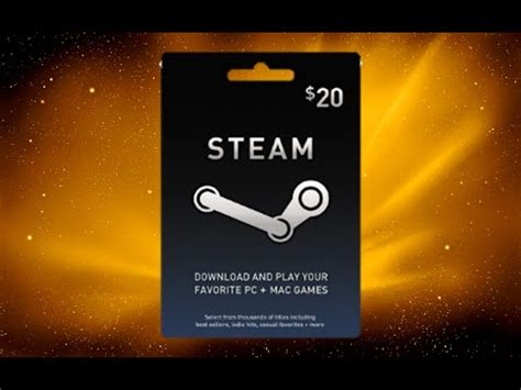 Steam Gift Card Not Working - steam gift card giveaway 20 euro open youtube