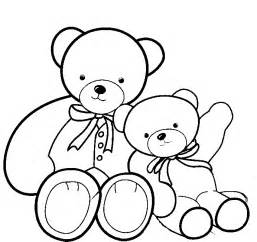 free coloring pages teddy