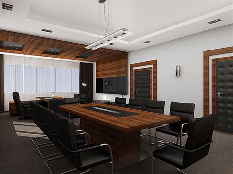 interior design 02 executive director office on behance