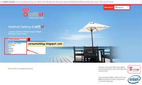 Wifi Langganan beberapa layanan jaringan yang dapat kita gunakan dengan