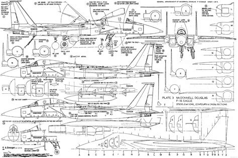 F Drawing Design by F 15 Fighter Jet Airplane Eagle Plane 96