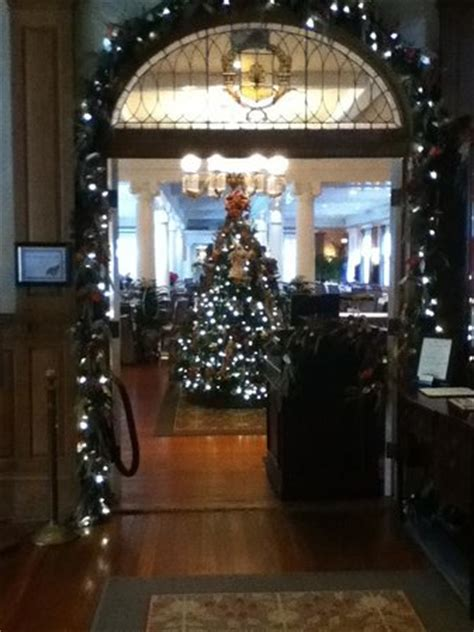 grand dining room jekyll island decorated for christmas picture of grand dining room