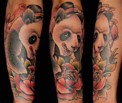 red panda tattoo meaning 88 panda sleeve tattoos