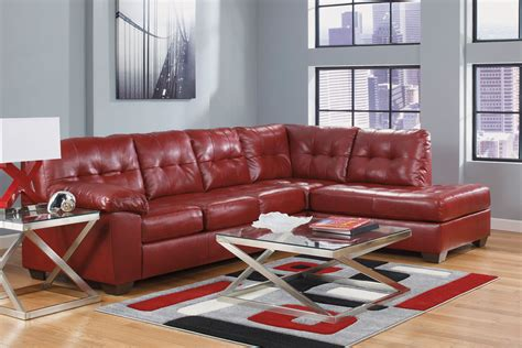 ashley white leather sofa ashley red leather sofa bastrop red leather sofa steal a