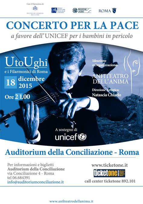 librerie via della conciliazione mappa evento concerto per la pace auditorium della