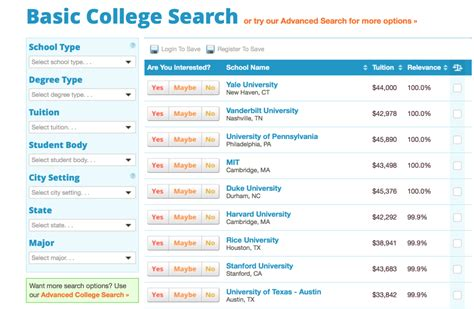 College Search How To Search For Colleges