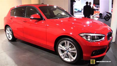 bmw 116i interior 2016 bmw 1 series 116i exterior and interior walkaround