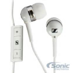 Sennheiser Earphone Mm 30g sennheiser mm 30g white earbuds for samsung galaxy android phones