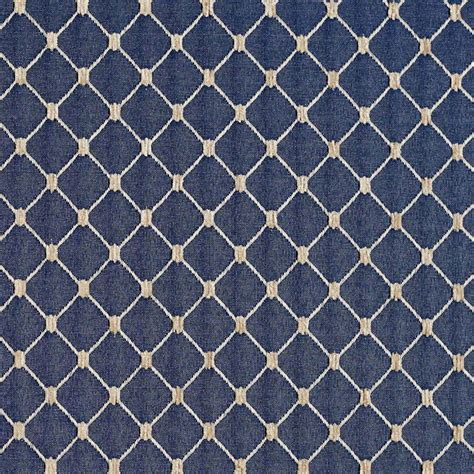 pattern drapery fabric navy blue diamond jacquard woven upholstery fabric by the