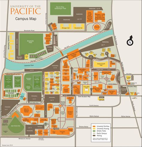 Cost For Mba At Of The Pacific Stockton Ca by Parking