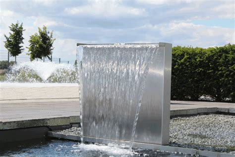 moderne wasserspiele 720 oase waterfall set 60 oase wasserspiele