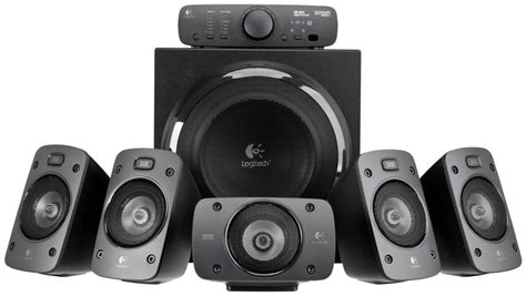Home Theater Logitech Z906 logitech z906 5 1 surround sound thx certified speakers