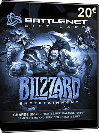 Battle Net Gift Cards - buy battlenet card battle net giftcard 20 eur mmoga