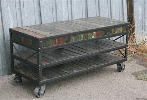unique tv stands combine 9 industrial furniture unique tv stand