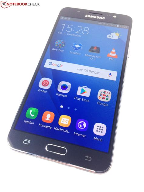 samsung galaxy j7 2016 smartphone review notebookcheck net reviews