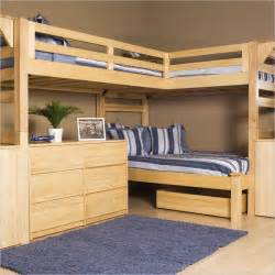 Ideas For Loft Bunk Beds Design Shared Room Designs For Three Or More Children Home Designs Project