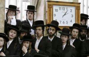 Some 20 percent of jews in israel are orthodox about half of whom are