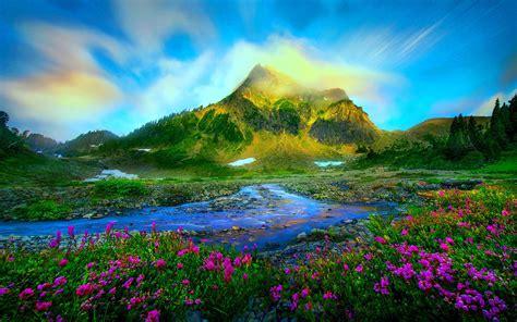 Landscape Pictures For Desktop Background Nature Landscape Wallpapers Hd Widescreen Wallpaper Nature