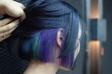 ide warna rambut  rambut pendek  keren