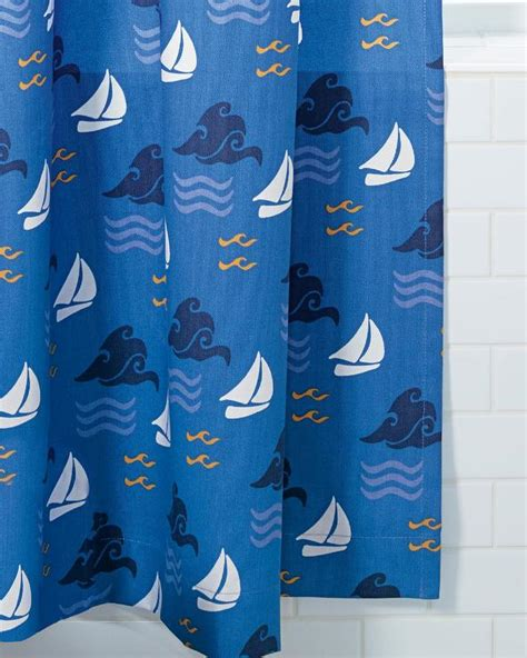 Sea Shower Curtain by Blue Sea Shower Curtain