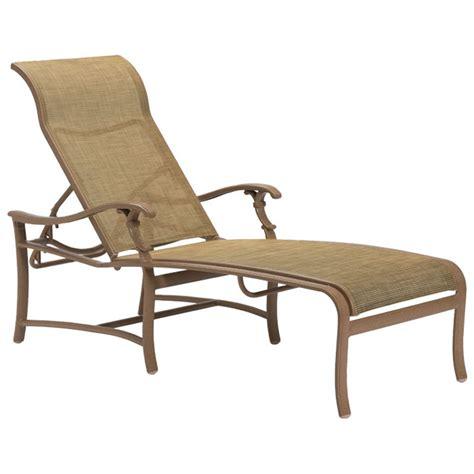 Inexpensive Chaise Lounge Sling Lounge Chairs Cheap Tropitone 181032 Mainsail