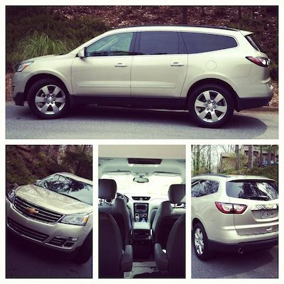 road trippin' family style: the 2013 chevy traverse video