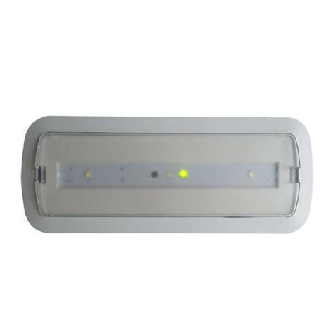 3 hours autonomy battery operated led ceiling light for
