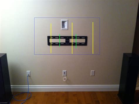 how high to mount tv on wall in bedroom wall mount dilemma avs forum home theater discussions