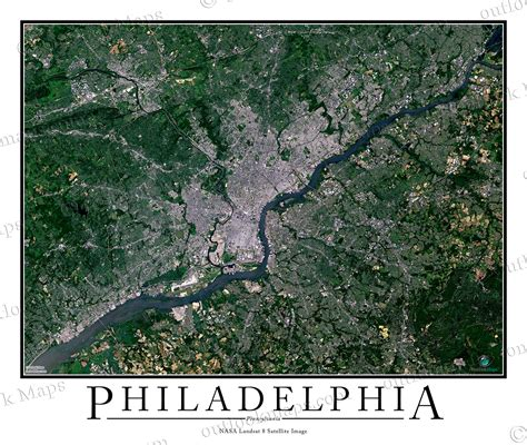 aerial maps philadelphia pa area satellite map print aerial image