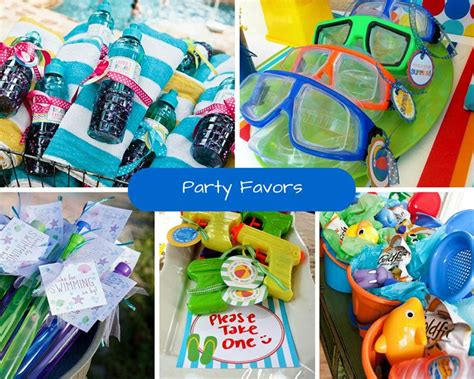 Pool Party Giveaways - kids pool party ideas summer party ideas at birthday in a box