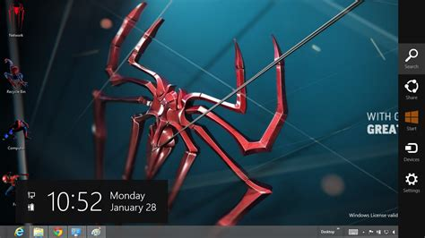 themes for windows 7 spiderman 3 the amazing spider man 4 theme for windows 8 ouo themes