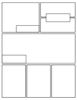 graphic novel layout pages free graphic novel comic book templates by mr mosley s