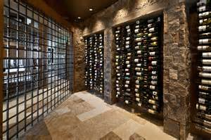 Build Your Own Chandelier Wine Cellars Overflowing With Artful Storage