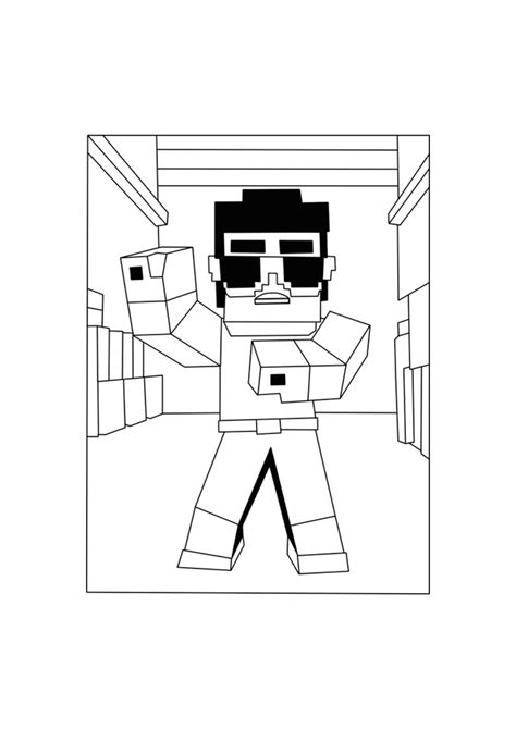 detailed minecraft coloring pages 100 coloring pages for minecraft minecraft villager
