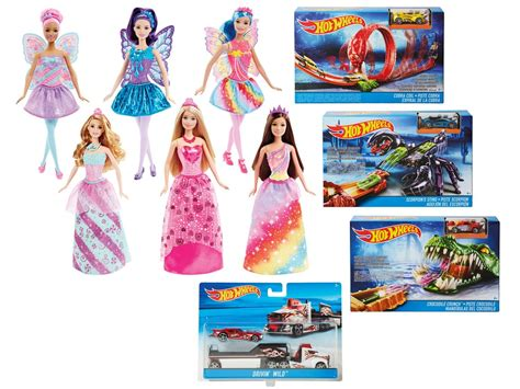 Sale Hotwheels Crocodile Crunch mattel 174 barbiepoppen of wheels speelset lidl