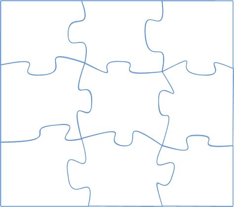 puzzle templates drawing in powerpoint jigsaw puzzle part 1 powerpointy