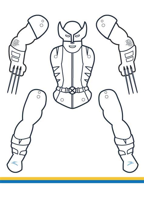 superhero jumping jacks coloring edition vol 2 m gulin