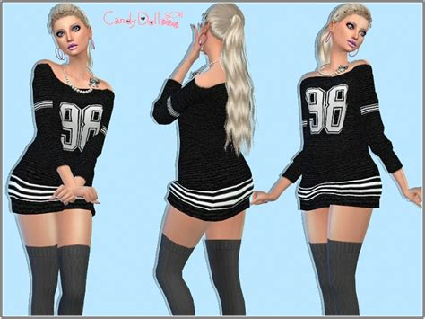Dress Big Salur Cc tops at candydoll fashion 187 sims 4 updates