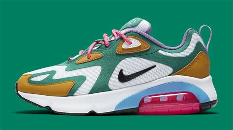 Nike Air Max 200 Mystic by Nike Air Max 200 S Mystic Green Release Date At6175 300 Sole Collector